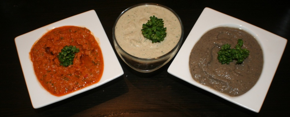 Tapenade variations