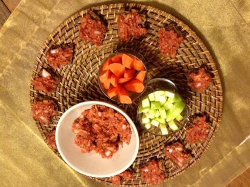 Vegan Mett (Vegan meat imitation paste)