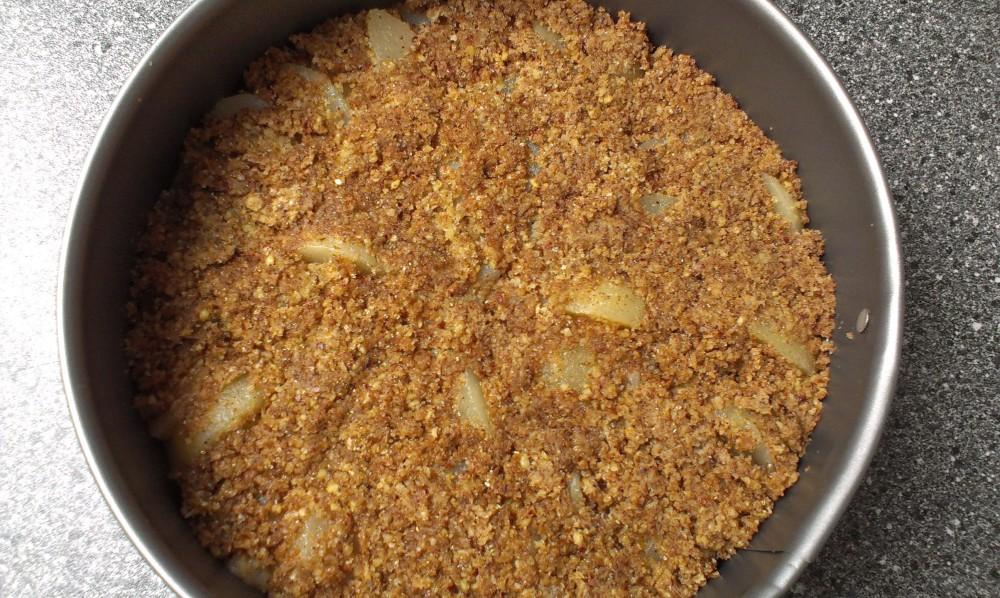 Wholegrain Pear Tarte