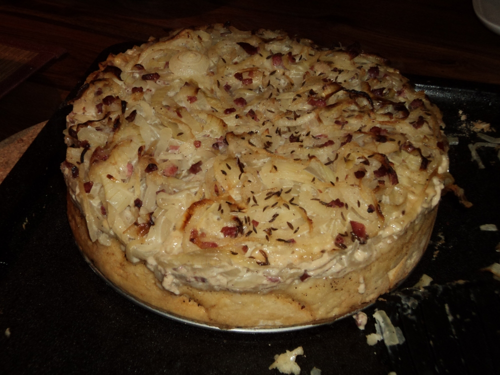 German style onion tart