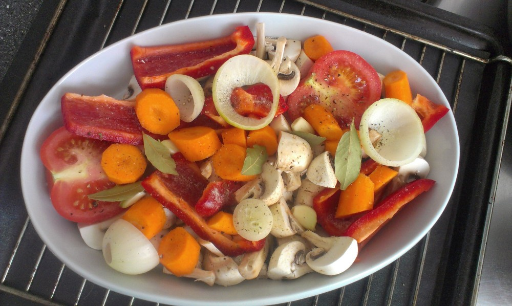 Oven veggies