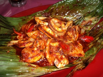 Sambal spicy squid