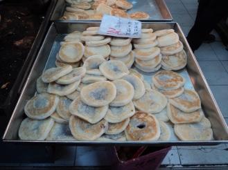 Bean pancakes in Hongkong