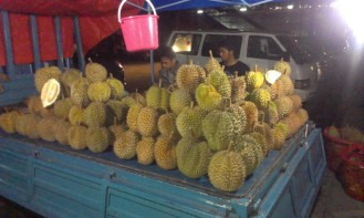 Durian aka stinky fruit, great dessert!